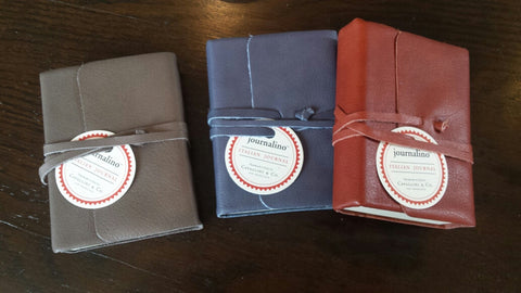 Handmade Leather Journal by Cavallini