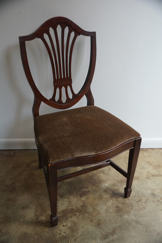 Mahogany Dining Chairs (6)
