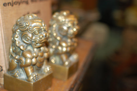 Brass Foo Dogs (Pair)