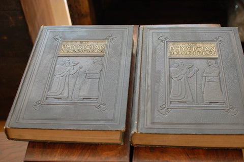 THE PHYSICIAN THROUGHOUT THE AGES by Arthur Selwyn-Brown - 1928 - 2 Vols