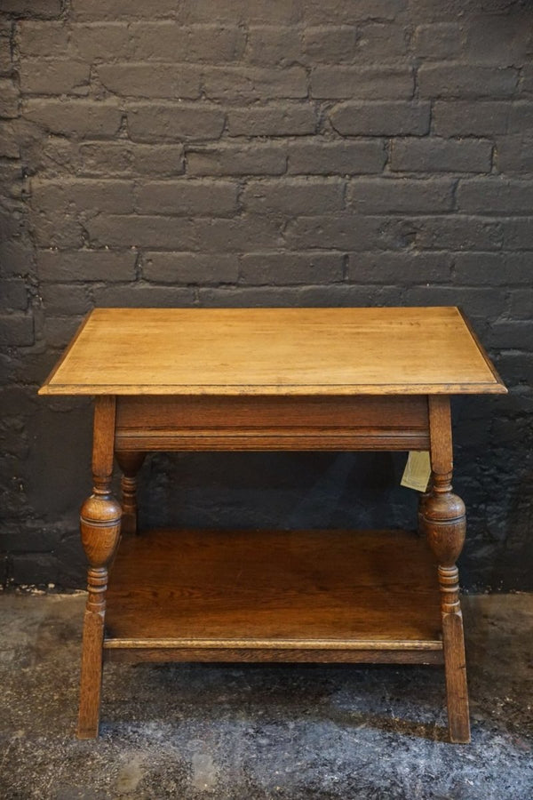 American Oak Side Table - Bloodline Merchants
