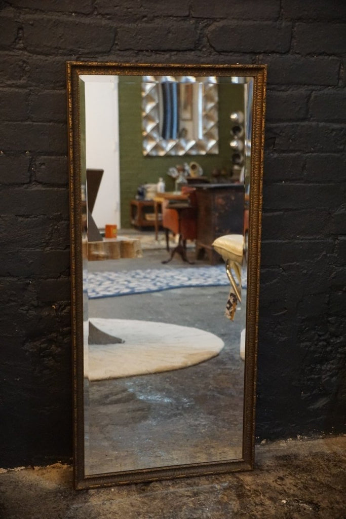 Bevel Edged Antique Mirror - Bloodline Merchants