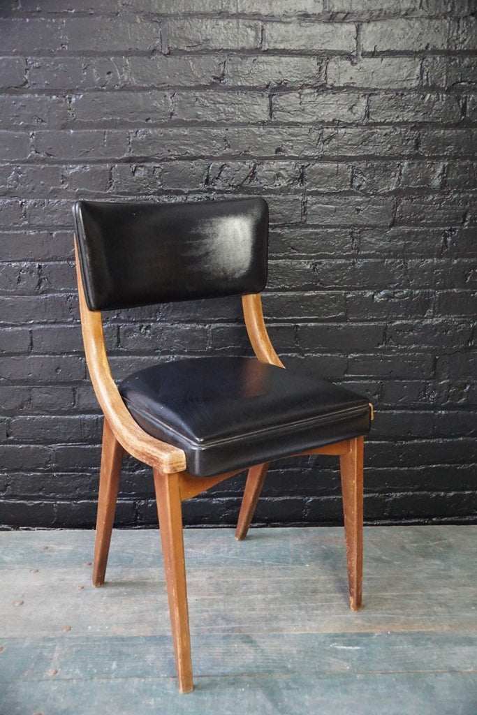 Black Leather Chair - Bloodline Merchants