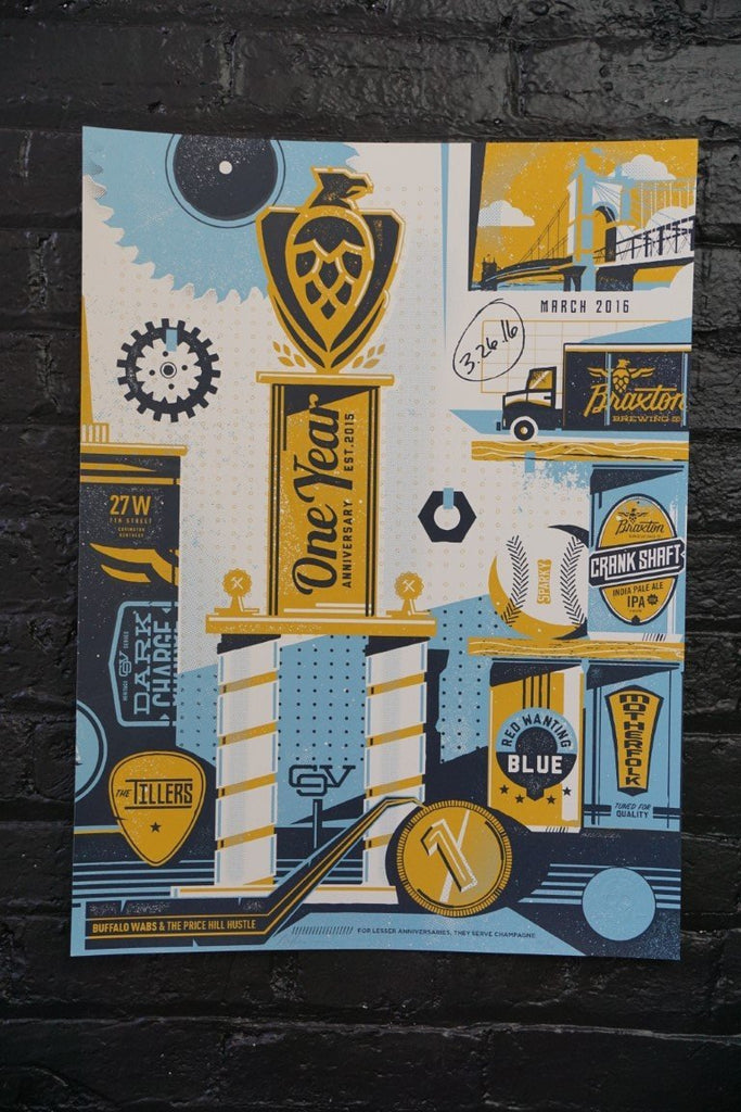 Braxton Brewing Poster (2) - Bloodline Merchants