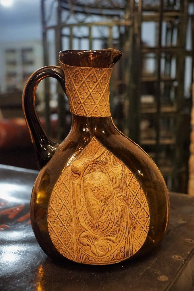 Brown Glass Jug - Bloodline Merchants