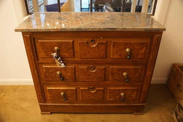 Burr Walnut Chest of Drawers - Bloodline Merchants