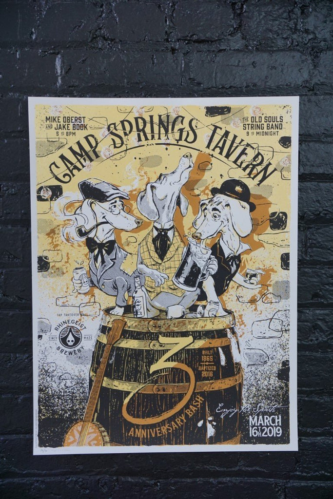 Camp Springs Tavern Poster - Bloodline Merchants