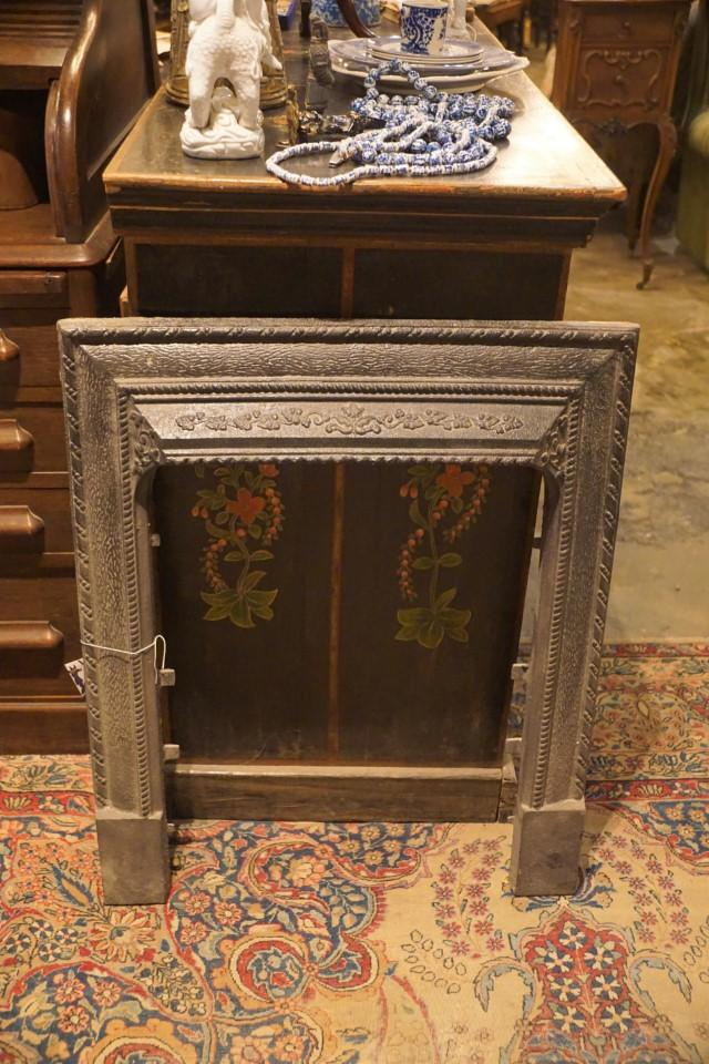 Cast Iron Fireplace Front Plate - Bloodline Merchants