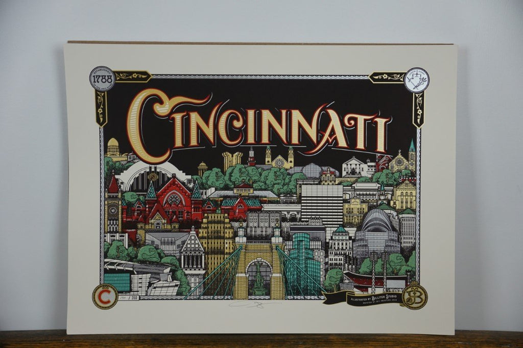 Cincinnati 1788 Poster - Bloodline Merchants