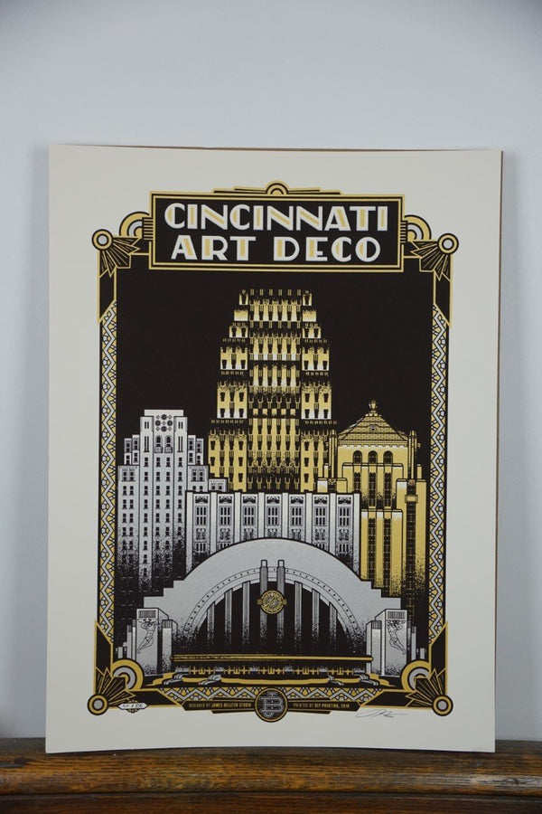 Cincinnati Art Deco - Bloodline Merchants