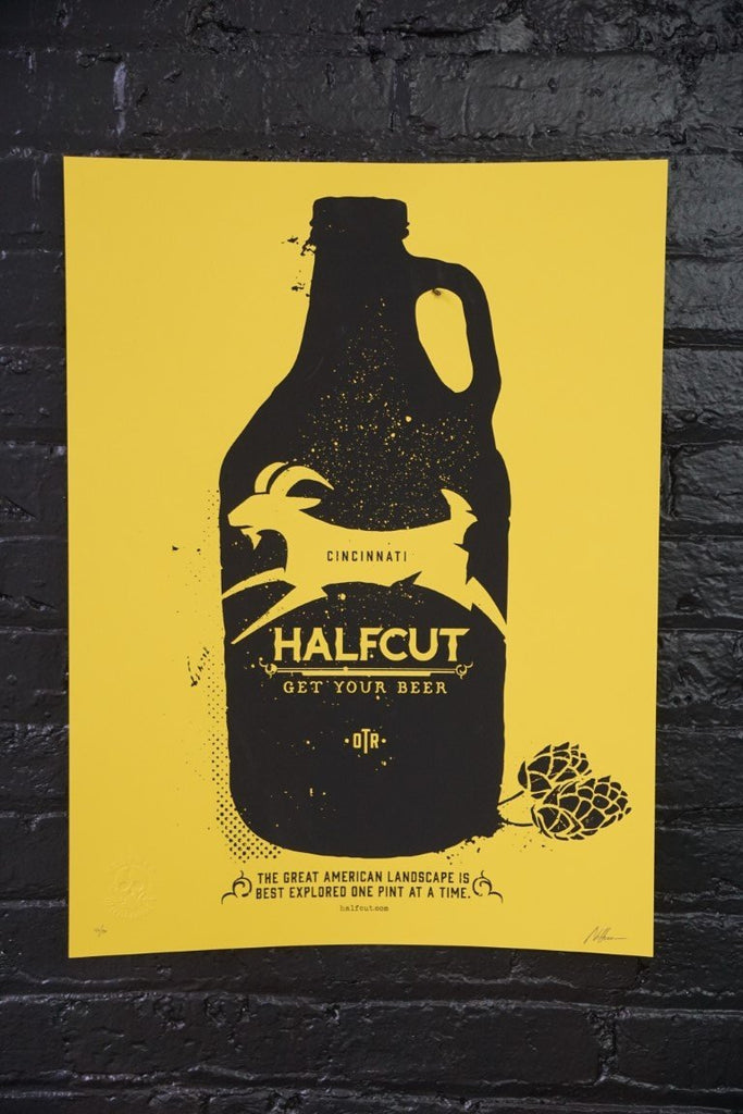 Cincinnati Halfcut Poster - Bloodline Merchants