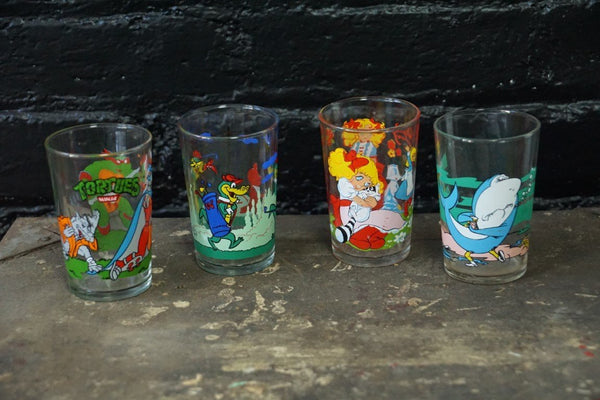 Collectible French Drinking Glasses (Set of 8) - Bloodline Merchants
