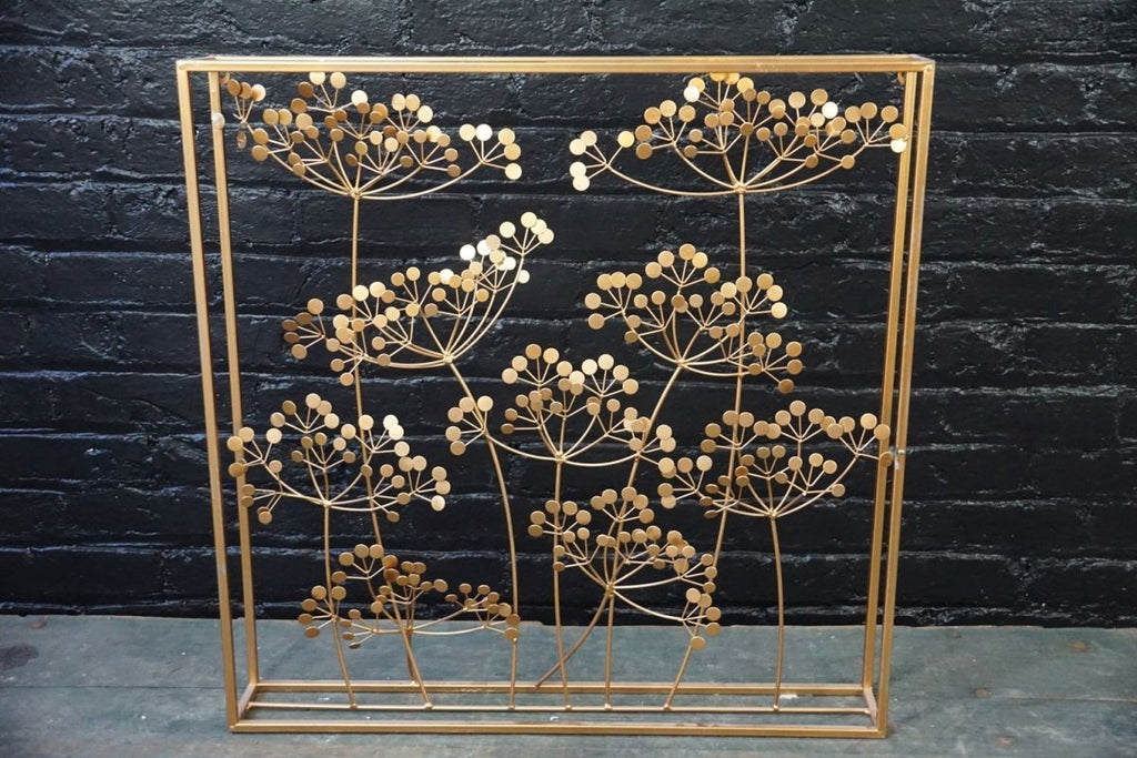 Decorative Brass Screen - Bloodline Merchants