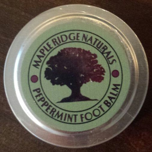Peppermint Foot Balm (1 oz)
