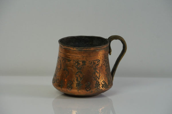 Engraved Copper Cup - Bloodline Merchants