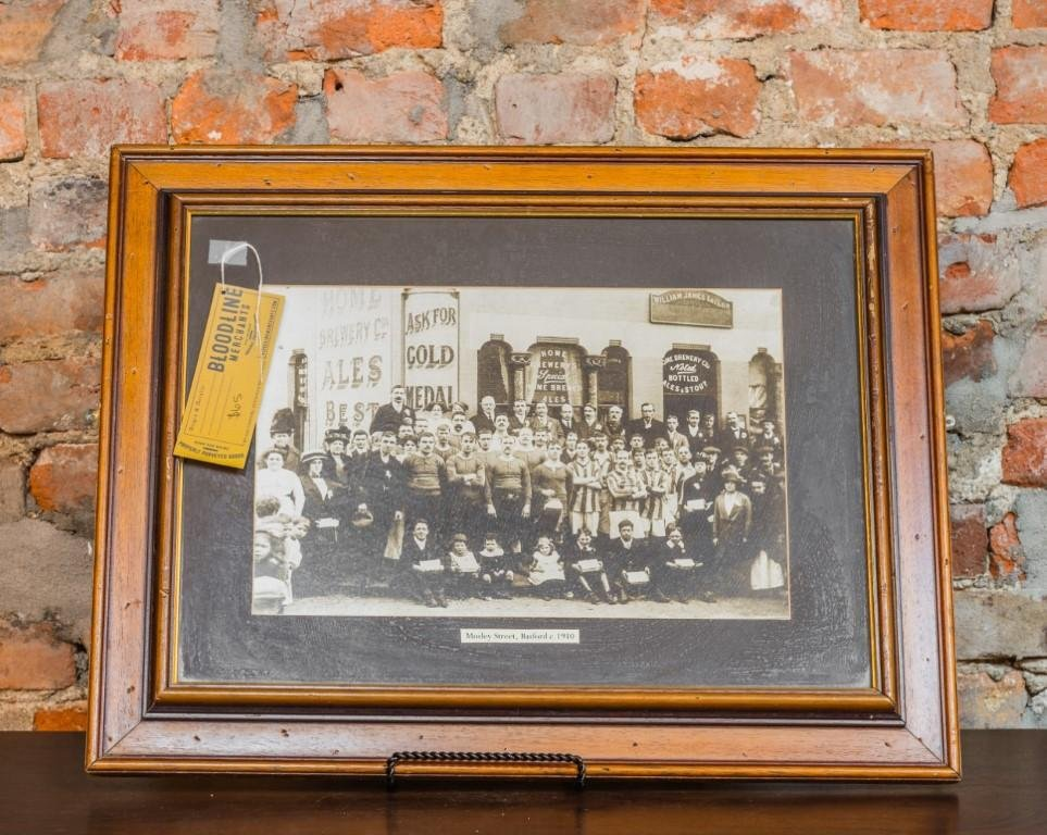 Framed Photo Mosley Street, Brasford 1910 - Bloodline Merchants
