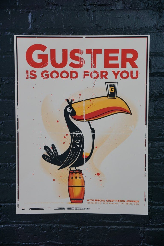 Guster Poster - Bloodline Merchants
