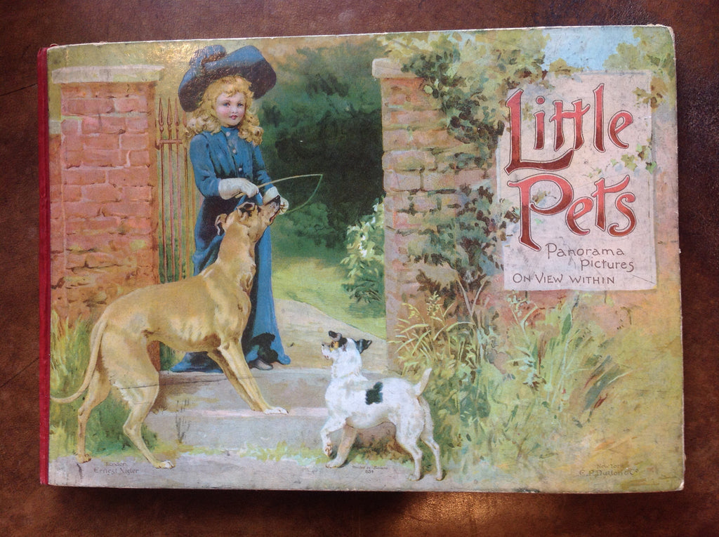 Little Pets Panorama Pictures Book - Ernest Nister