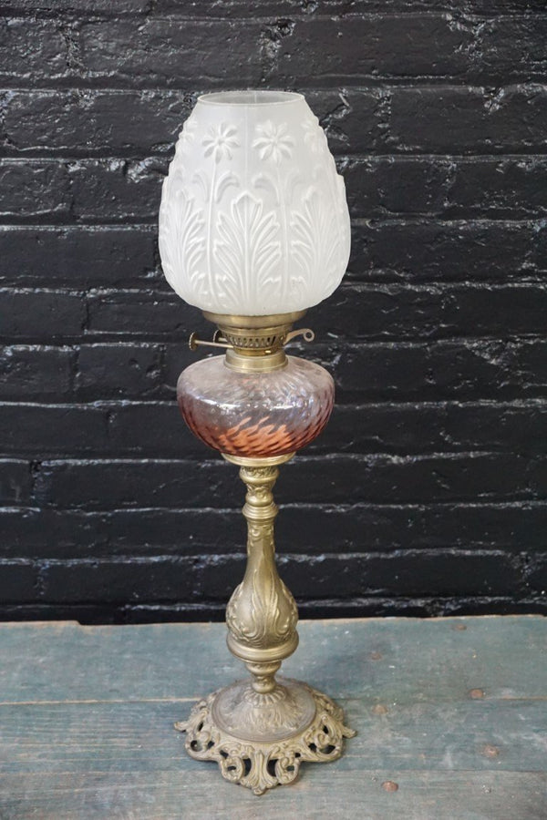 Lamp with Brass Base - Bloodline Merchants