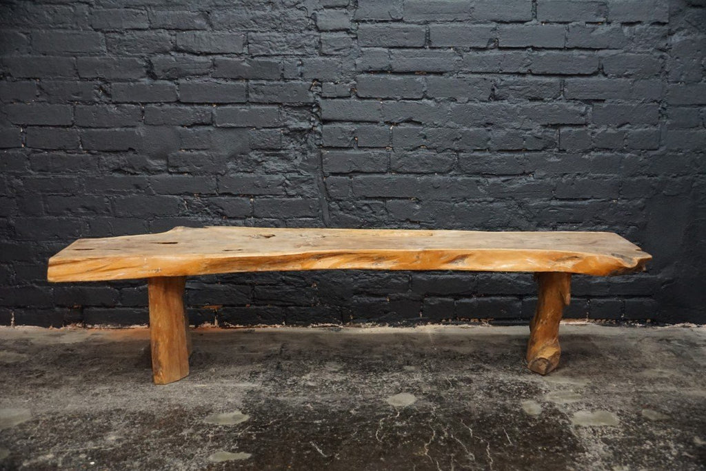 Live Edge Coffee Table/Bench - Bloodline Merchants