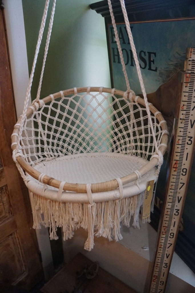 Macrame Porch Swing - Bloodline Merchants