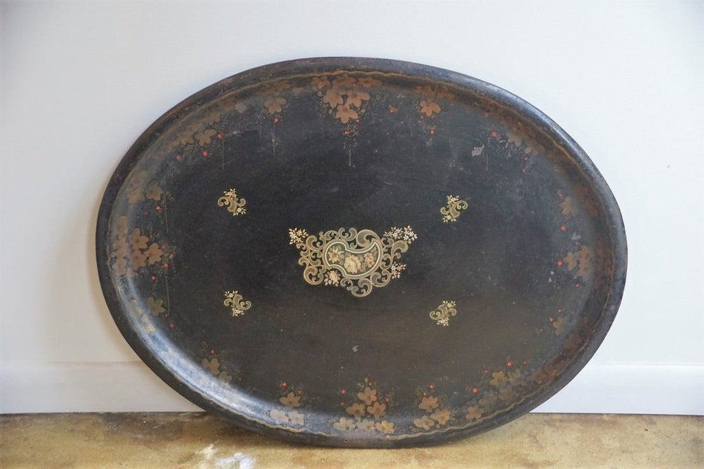 Oriental Lacquered Tray (Small) - Bloodline Merchants