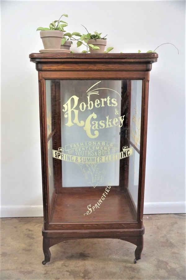 Roberts and Caskey Retail Display Cabinet - Bloodline Merchants