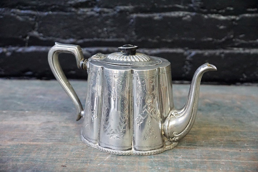 Silver Plated Teapot - Bloodline Merchants
