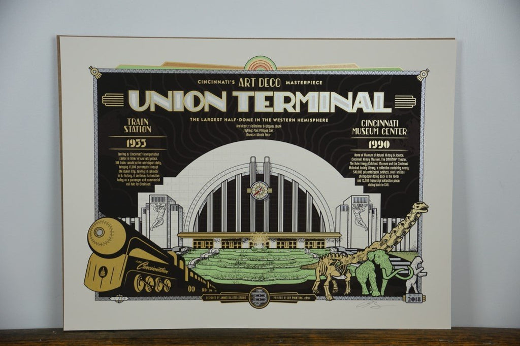 Union Terminal Poster - Bloodline Merchants