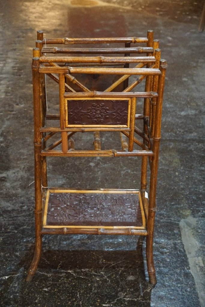 Victorian Bamboo Magazine Rack - Bloodline Merchants
