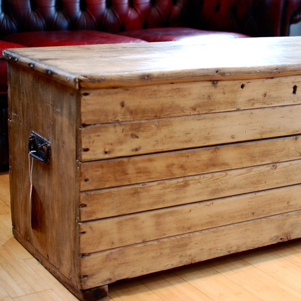 Victorian Pine Coffee Table: Buy Victorian Pine Coffee Table/Blanket Box At Bloodline