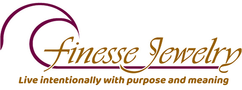 Finesse Jewelry uses quality semi-precious stones in most of its designs. Silver is the primary medium but also gold. Most are handmade. Teach stone properties