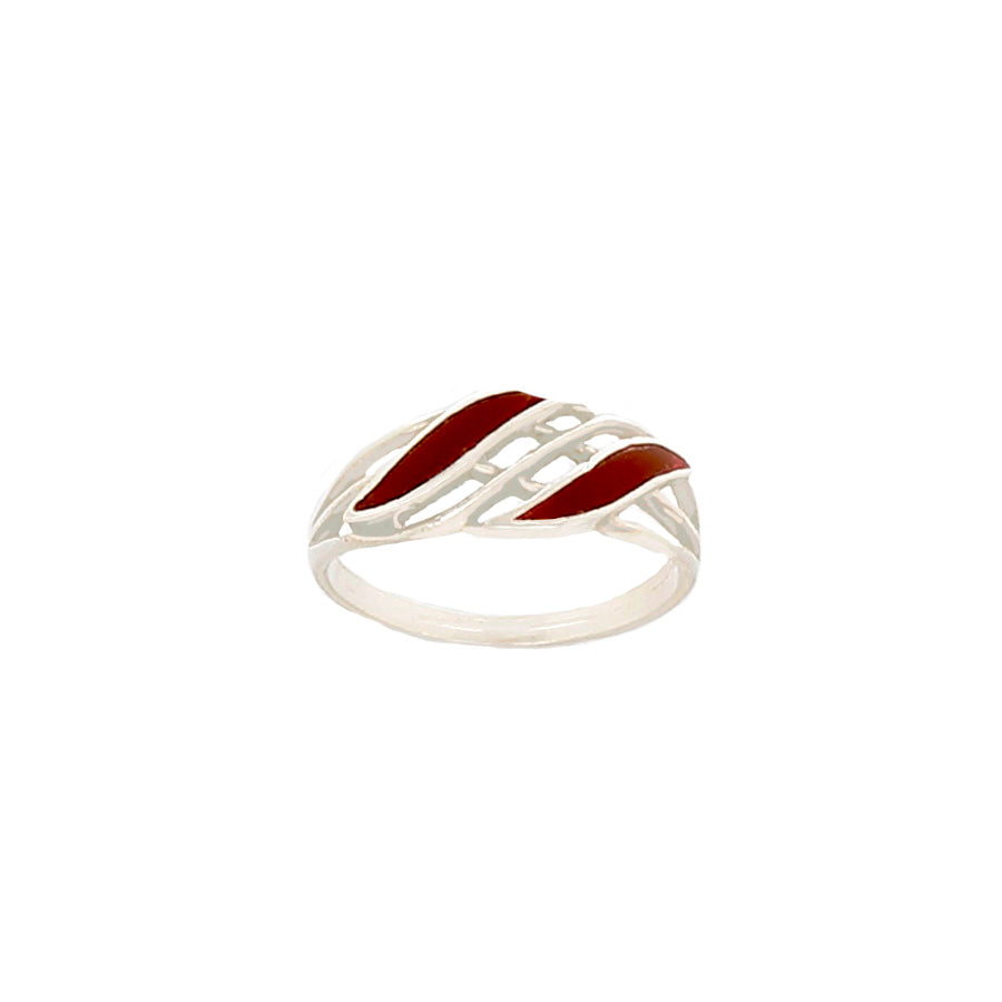 Carnelian Ring set in Sterling Silver - Finesse Jewelry
