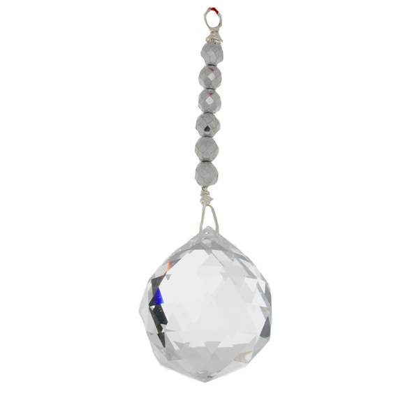 Hanging Crystal - Feng Shui - Helpful People (travel) - 40mm