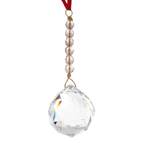 Hanging Crystal - Feng Shui - Relationship/Love Area  - 40mm