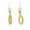 Curve Wave solid Color Earrings (in Black, Silver, Gold, Purple, Blue, Copper, Brown) - Finesse Jewelry