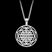Sri Yantra Mandal Pendant necklace