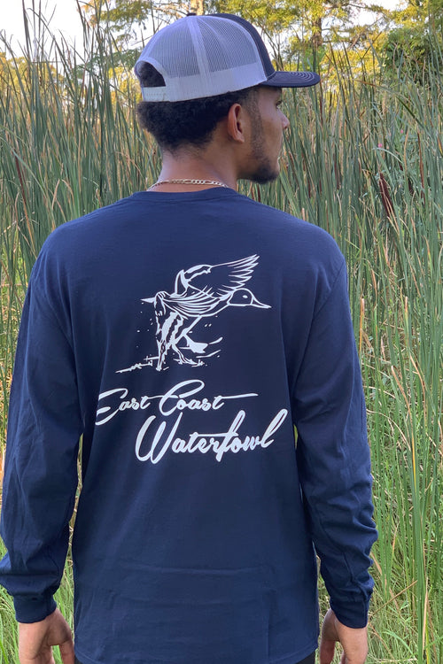 ECW Long Sleeve Pocket T-Shirt by East Coast Waterfowl