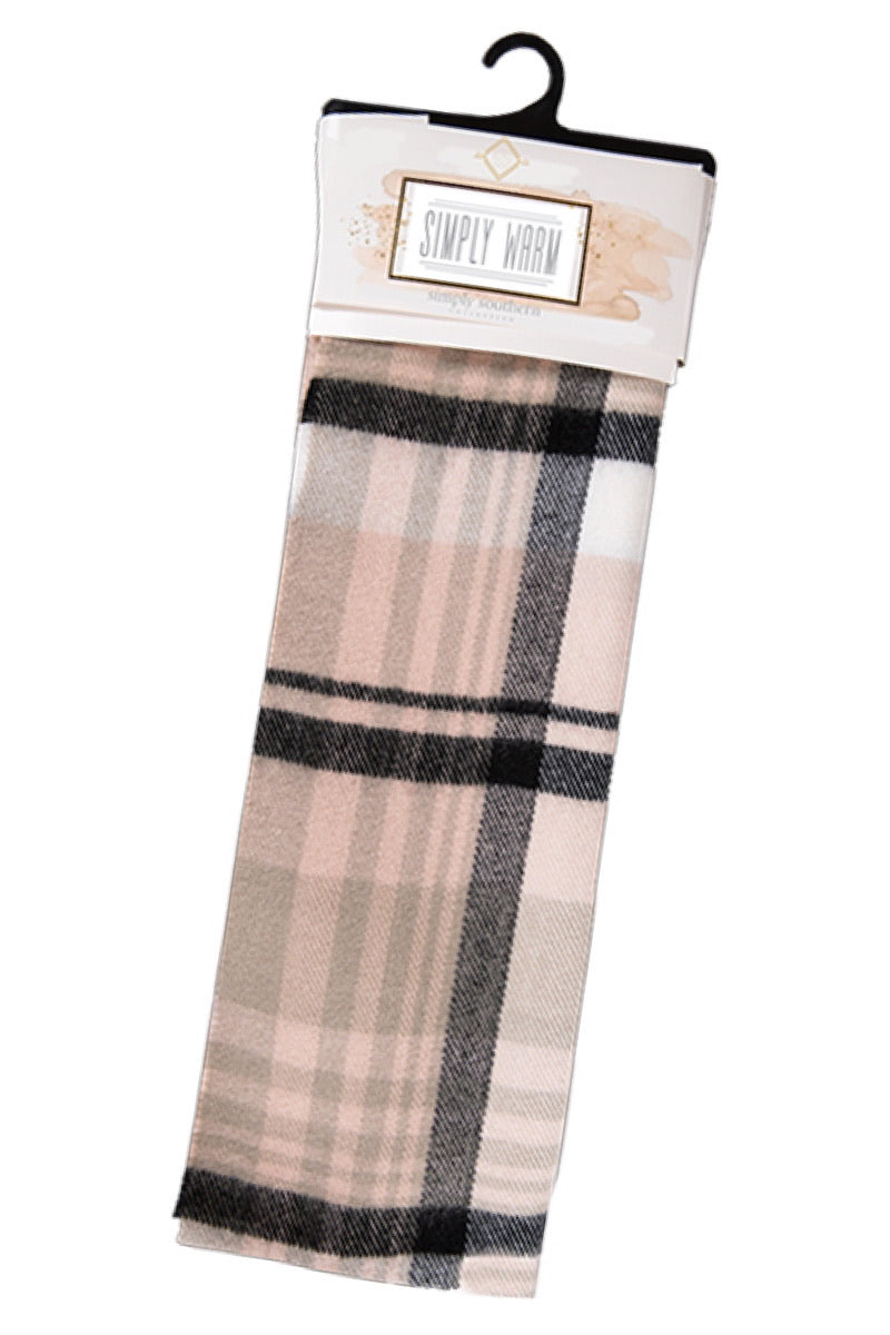 Simply Southern Plaid Scarf
