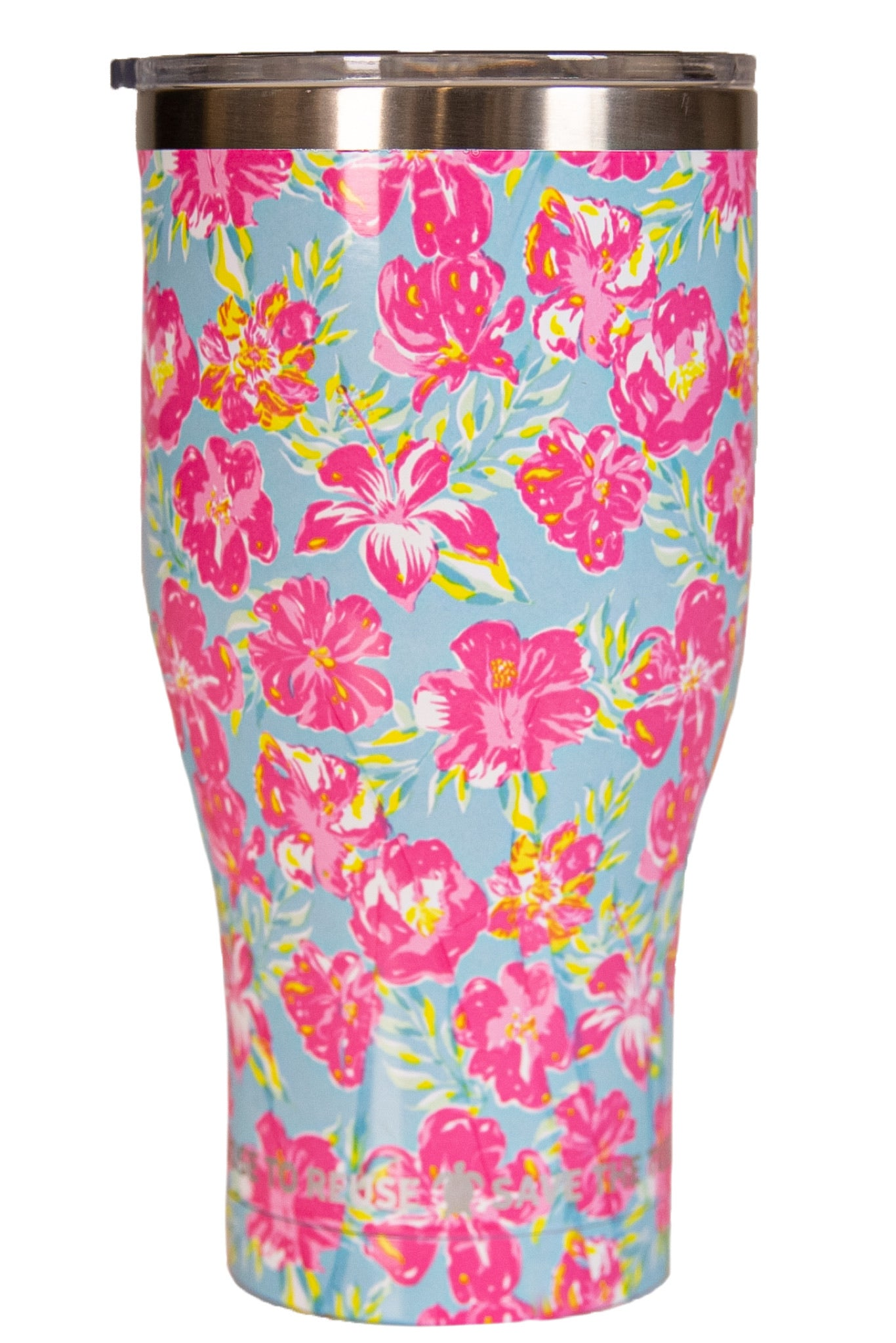 "Simply Southern ""Tropical Floral"" Drinkware"