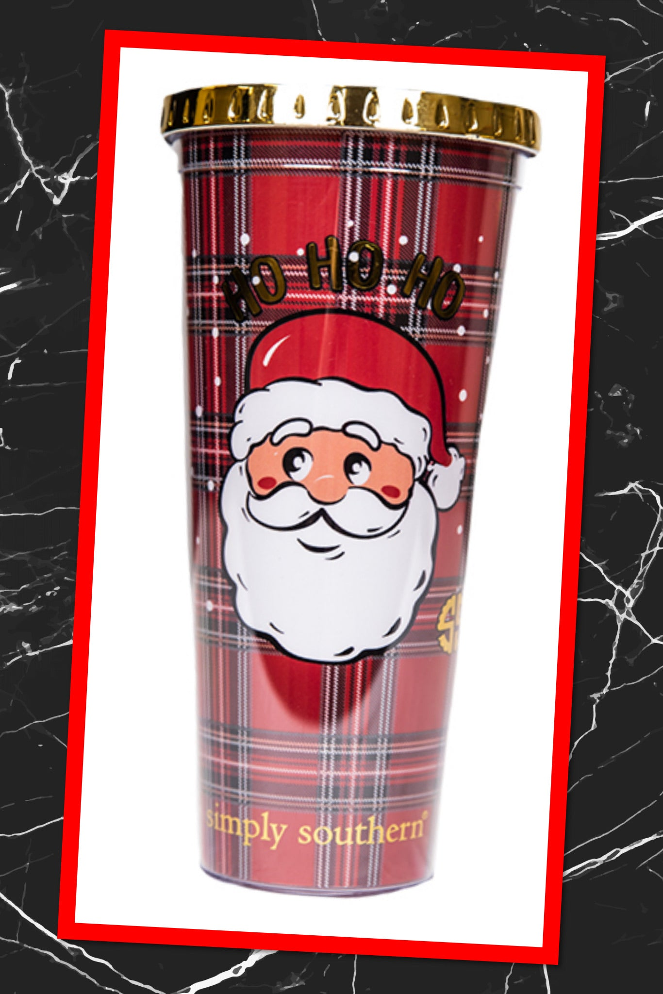 Simply Southern Holiday Drinkware