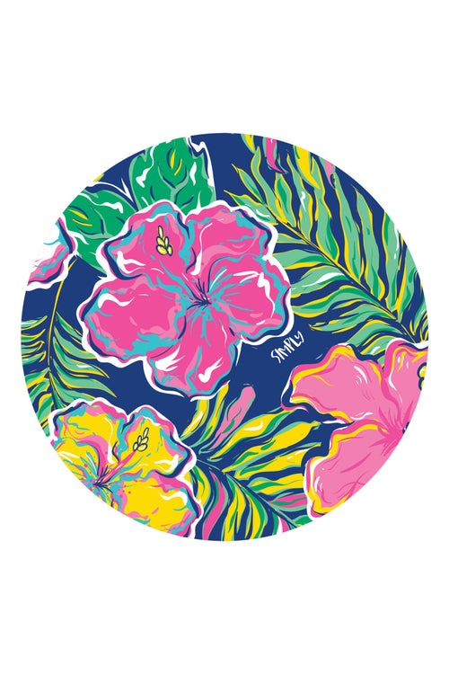 """Tropic"" Car Coasters by Simply Southern"