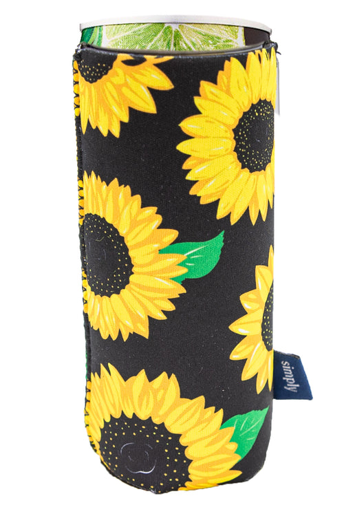 """Sunflower"" Slim Can Holder by Simply Southern"