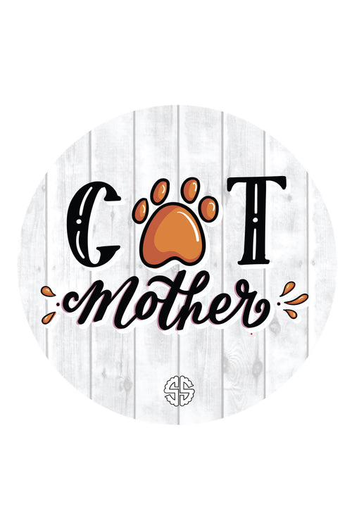 """Cat Mom"" Car Coasters by Simply Southern"
