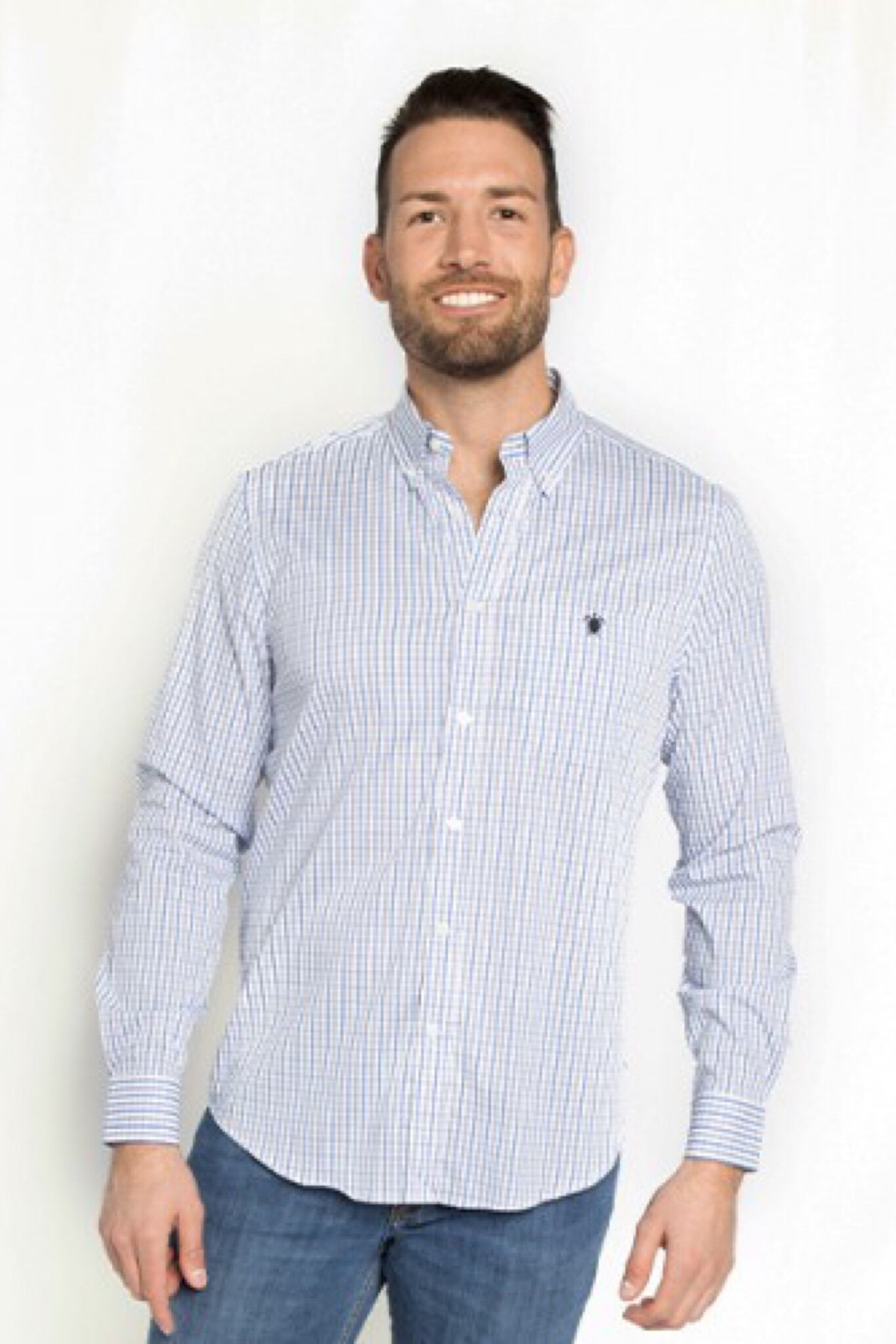 Simply Southern William Plaid Long Sleeve Shirts