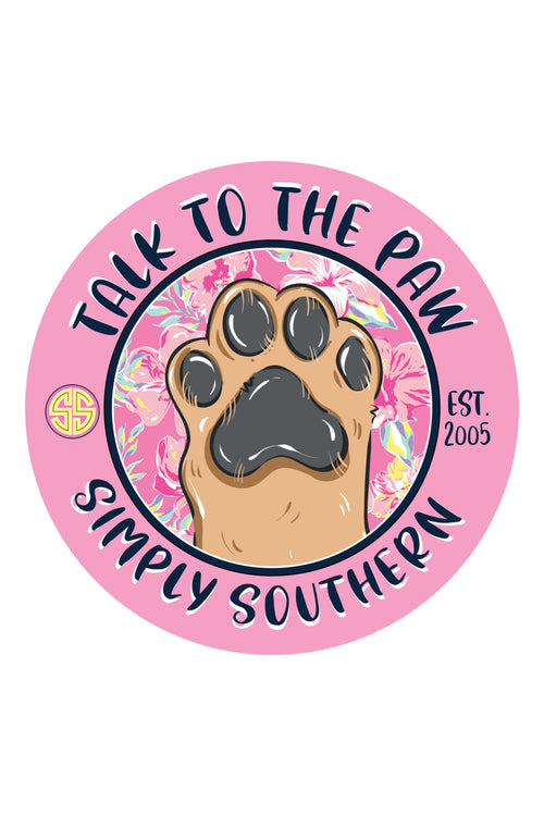 """Paw"" Car Coasters by Simply Southern"