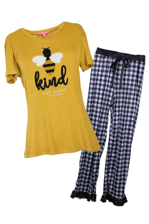 Kind Adult PJ Set by Simply Southern