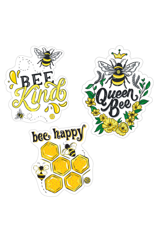 """Bee"" Sticker 3 Pack by Simply Southern"