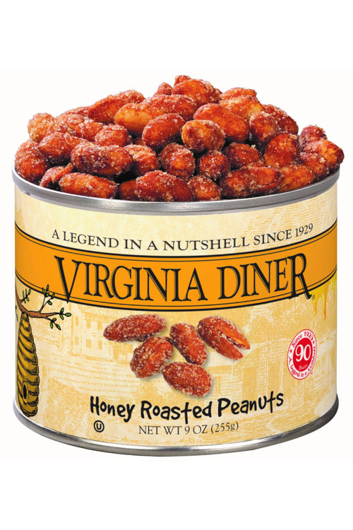 Honey Roasted Peanuts by Virginia Diner