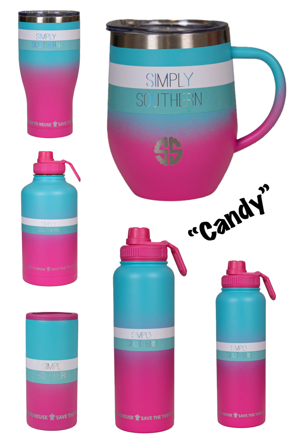 "Simply Southern ""Candy"" Drinkware"